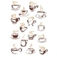 Set of Cups of Coffee - GraphicRiver Item for Sale