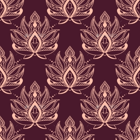 GraphicRiver Floral Pattern 9258489