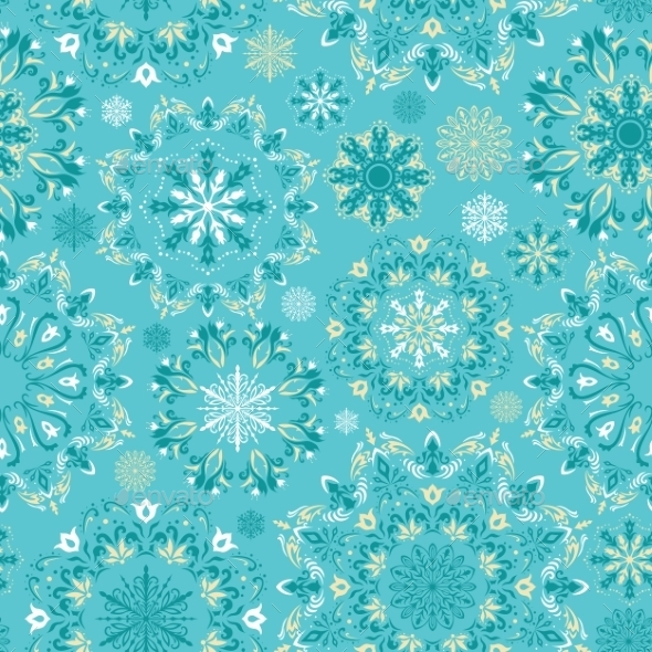 GraphicRiver Christmas Pattern 9258502