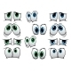 Blue and Green Cartoon Eyes - GraphicRiver Item for Sale