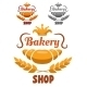 Bakery Shop Labels - GraphicRiver Item for Sale