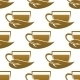 Tea Cup Pattern - GraphicRiver Item for Sale