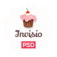 Invisio Cake - Sweet PSD Template - ThemeForest Item for Sale