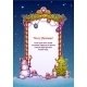 Christmas Gate with Snowman - GraphicRiver Item for Sale