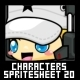 Characters Spritesheet 20 - GraphicRiver Item for Sale