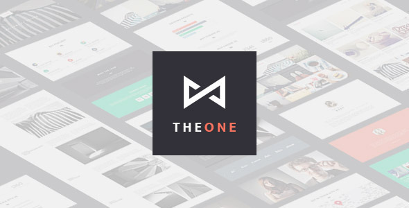 ThemeForest THEONE Parallax Onepage Responsive HTML Template 9258784