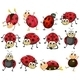 Ladybugs - GraphicRiver Item for Sale