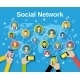 Social Network Concept - GraphicRiver Item for Sale
