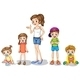 Mother with Children  - GraphicRiver Item for Sale