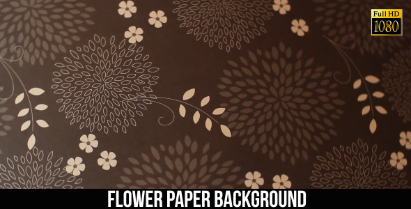 Flower Paper Background 9