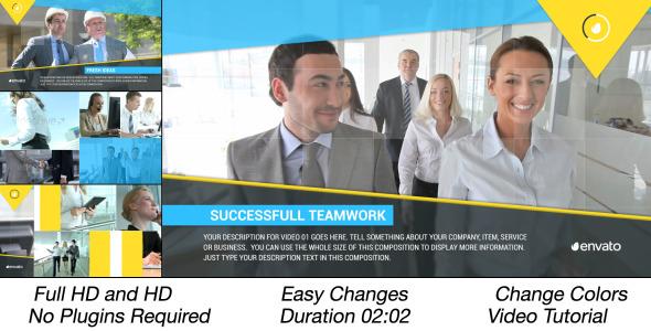Multi Video Corporate Slideshow