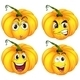 Four Pumpkins - GraphicRiver Item for Sale