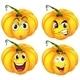 Four Pumpkins - GraphicRiver Item for Sale