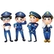 Four Policemen - GraphicRiver Item for Sale