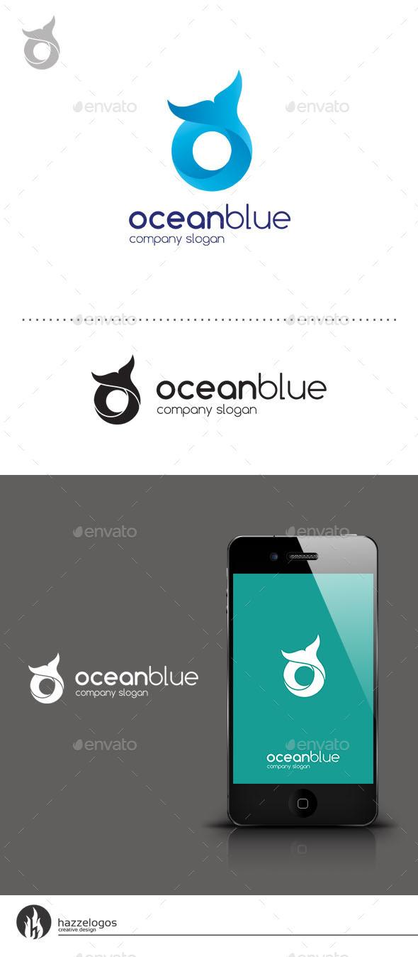 GraphicRiver Ocean Blue Logo 9259158