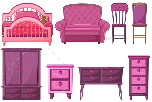 Furniture in Pink
