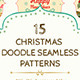 15 Christmas Seamless Patterns - GraphicRiver Item for Sale