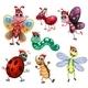Segmented Creatures - GraphicRiver Item for Sale
