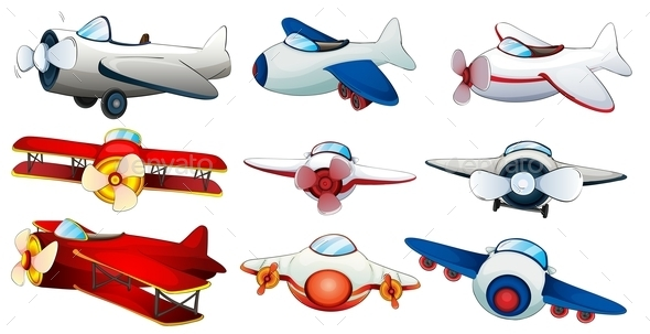 GraphicRiver Different Planes 9259455