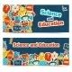 Education Science Banners - GraphicRiver Item for Sale