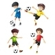 Soccer Players - GraphicRiver Item for Sale