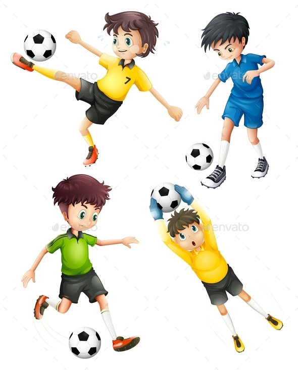 GraphicRiver Football Players 9259561