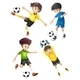 Football Players - GraphicRiver Item for Sale