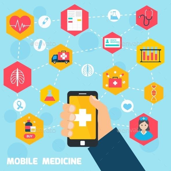 GraphicRiver Mobile Health Concept 9259593
