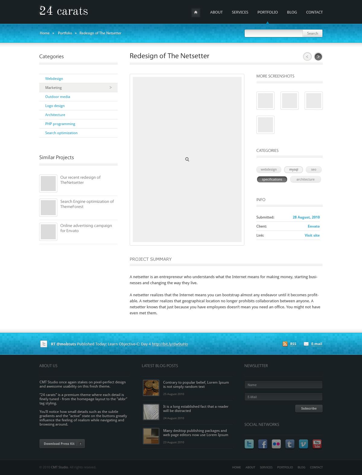 24 Carats - Business Portfolio