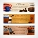 Coffee Banners Set - GraphicRiver Item for Sale