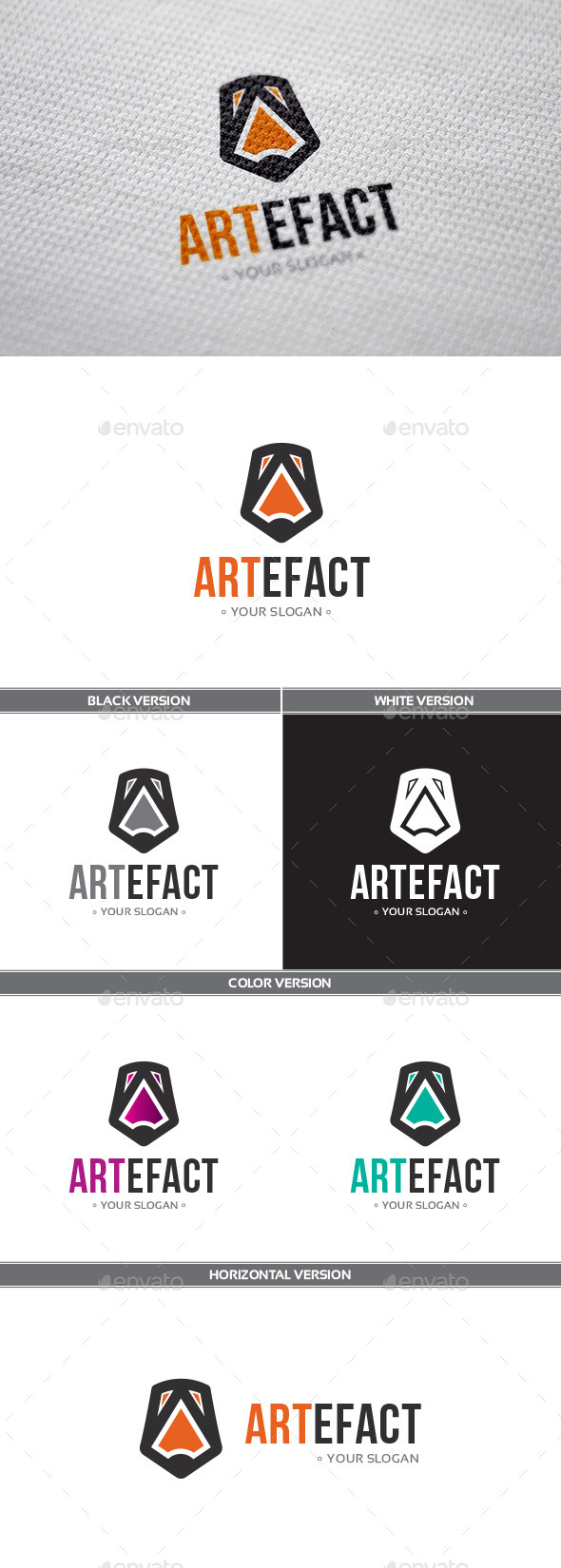 GraphicRiver Artefact Logo 9259627