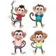 Monkeys - GraphicRiver Item for Sale