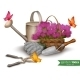 Garden Tools Background - GraphicRiver Item for Sale