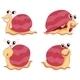 Four Snails - GraphicRiver Item for Sale