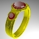 Golden Ring  - 3DOcean Item for Sale
