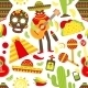 Mexico Seamless Pattern - GraphicRiver Item for Sale