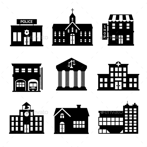 GraphicRiver Government Buildings 9259682