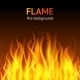 Flame Dark Background - GraphicRiver Item for Sale