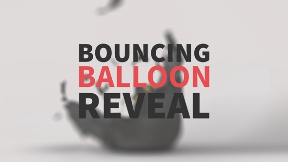 Bouncing Balloon Reveal