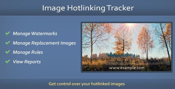 CodeCanyon Image Hotlinking Tracker 7931331