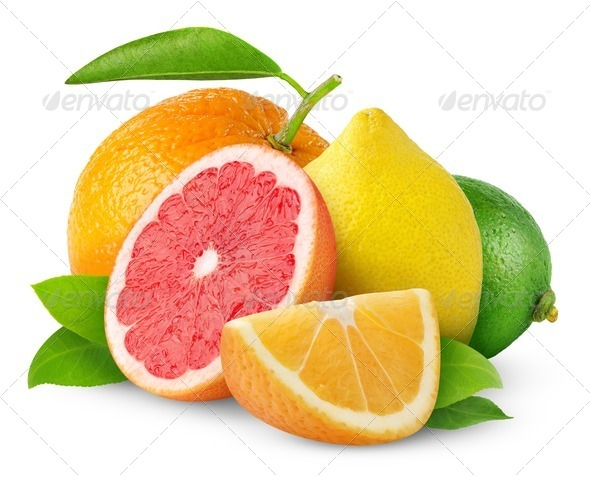 Citrus fruits - Stock Photo - Images