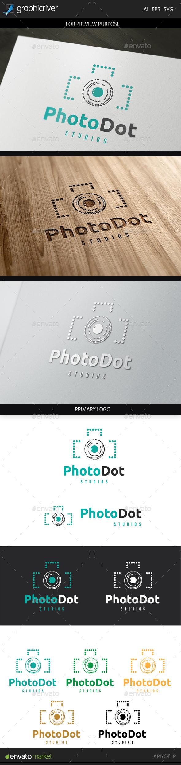 GraphicRiver Ptotodot Logo 9259724