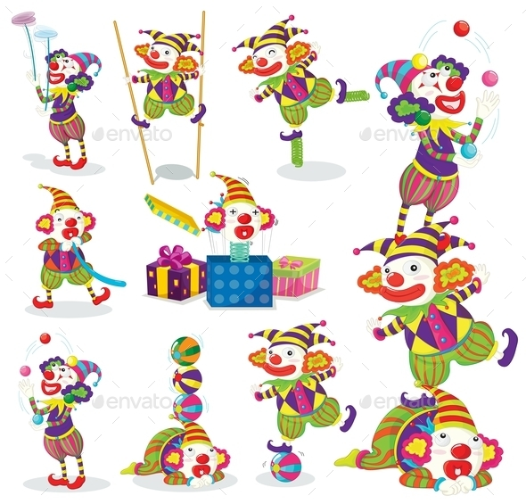 GraphicRiver Jokers Various Activities 9259730