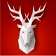 Greeting Card with Deer - GraphicRiver Item for Sale