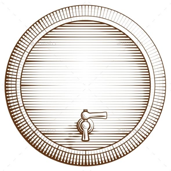 GraphicRiver Wooden Barrel 9259836