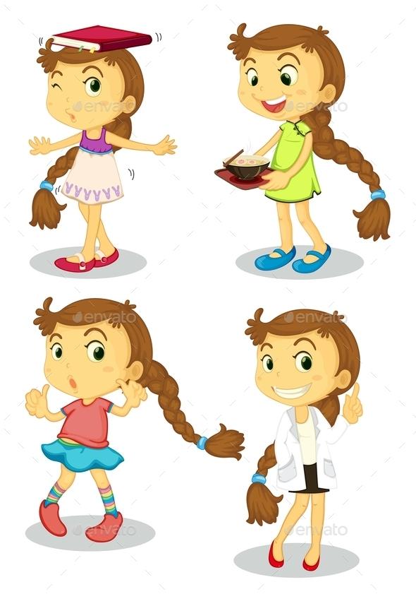 GraphicRiver Girl 9259842