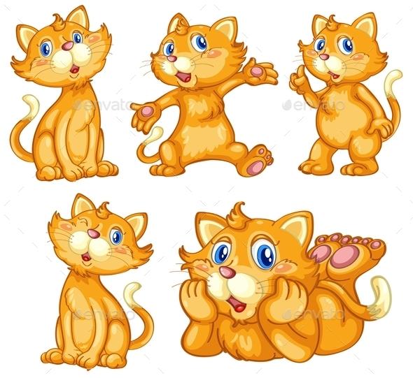 GraphicRiver Cat Set 9259916