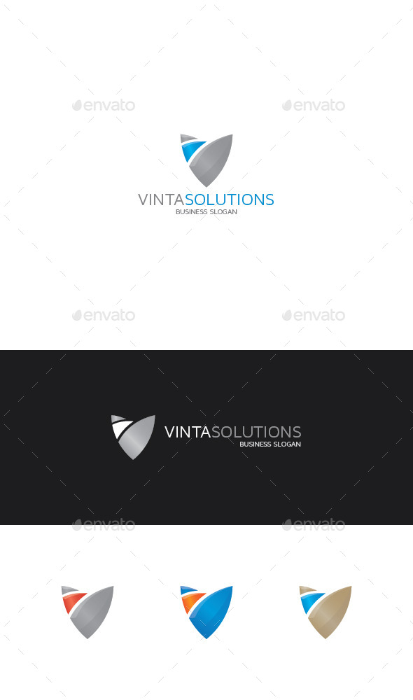 GraphicRiver Abstract Shield Logo 9259923