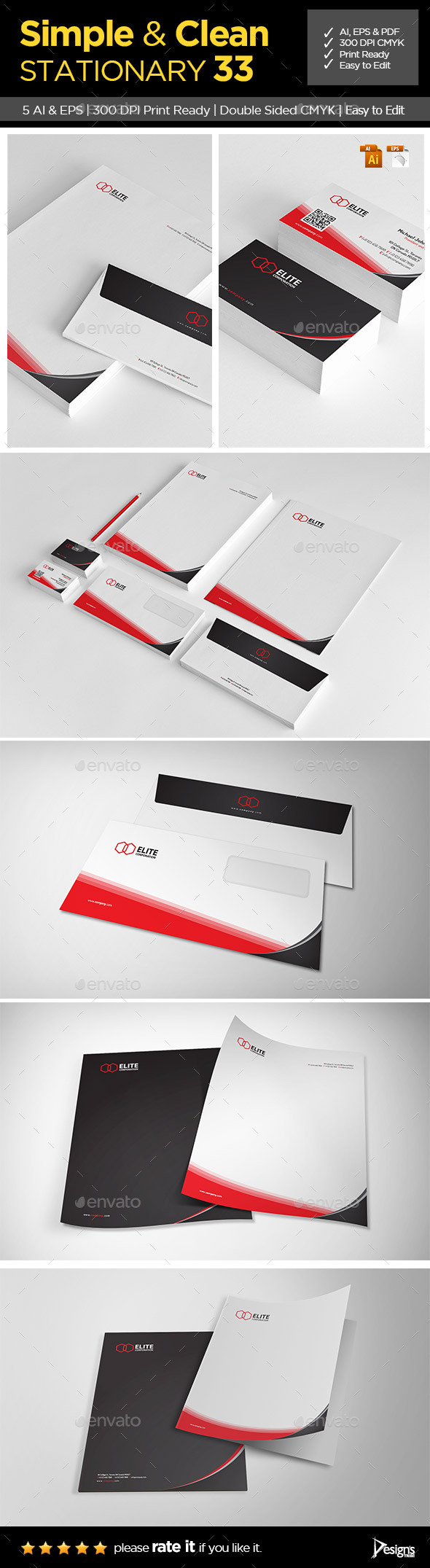 GraphicRiver Stationery 2 9259939