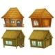 Set of Cabins - GraphicRiver Item for Sale